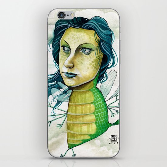 LOVELY CREATURE iPhone & iPod Skin