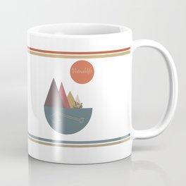 Icelandic Magical Stave - Vatnahlifir  Coffee Mug