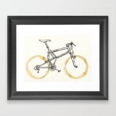Decaf-Coffee Wheels #00 Framed Art Print