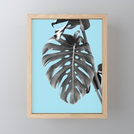 Monstera Delight #1 #tropical #decor #art #society6 Framed Mini Art Print