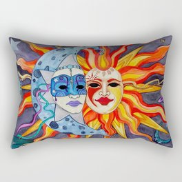 Celestial Comedy and Tragedy Rectangular Pillow