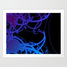 .:Energy Flow:. Art Print