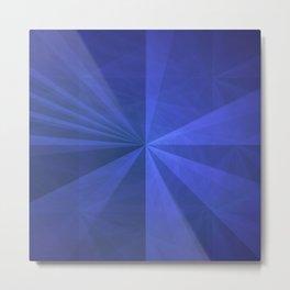 Simple Complex Rays Metal Print