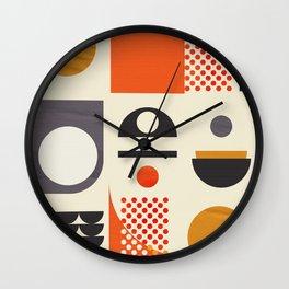 Mid-century no1 Wall Clock