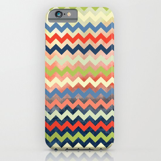 Watercolor Chevron iPhone & iPod Case
