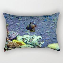Beautifully Ugly Brown Fish Rectangular Pillow