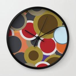 Abstract VII Wall Clock