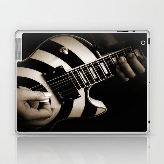 The Guitar Player Laptop & iPad Skin