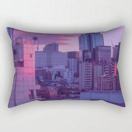 Tokyo Never Sleeps Rectangular Pillow