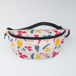 Fruit Punch Flowers Fanny Pack