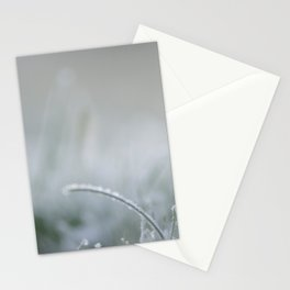 Frozen is the green grass Stationery Cards