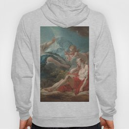 Diana and Endymion Oil Painting by Jean-Honoré Fragonard Hoody