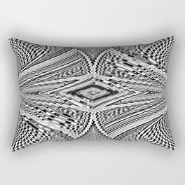 2 Xray Tango Chrome Rectangular Pillow