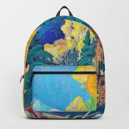 Franklin Carmichael - Autumn Hillside - Digital Remastered Edition Backpack