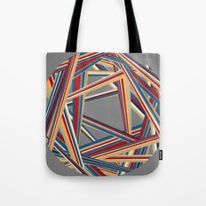 Bars and Stripes Tote Bag