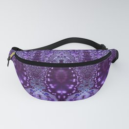 Purple Cathedral Fanny Pack