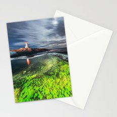 Midnight at Peggy's Cove Stationery Cards
