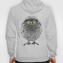 Fluffy cute baby owl Hoody