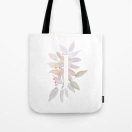 Personalized Gift - Rustic Monogram J Tote Bag
