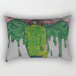 Fingerprints Rectangular Pillow