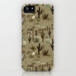 Snakebite Ranch iPhone Case