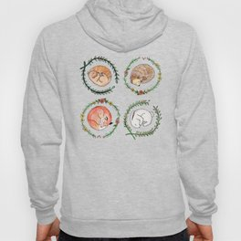 Hygge Forest Animals Hoody