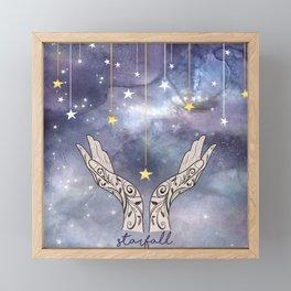 Starfall - ACOTAR inspired Framed Mini Art Print