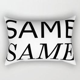 Same Same but Different Rectangular Pillow