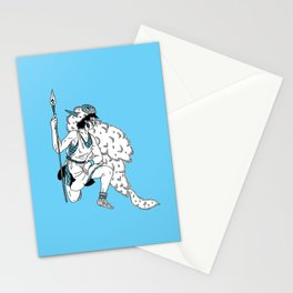 Princess Mononoke - San Stationery Cards