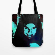 Scary Man Tote Bag