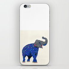 Fashion Animals, Spring 2014 Collection: Eléphant à Fleurs iPhone & iPod Skin