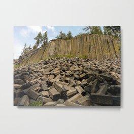 Devils Postpile National Monument Metal Print