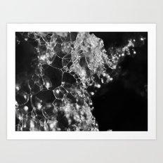 bubbles 2017 Art Print