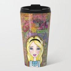 Alice in Wonderland ~ Never Lose Your Sense of Wonder Travel Mug