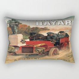 Vintage poster - Automobiles Bayard Rectangular Pillow