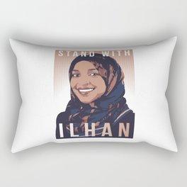 Ilhan Omar Rectangular Pillow