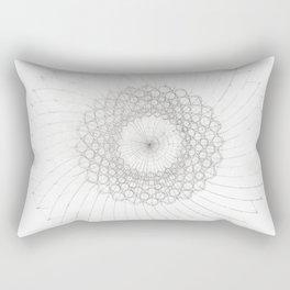 Geometrical Sunflower Rectangular Pillow