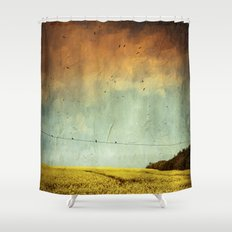 Canola Spring Shower Curtain