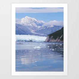 Glacier Summit Reflection Art Print