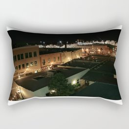 Twinkle Lights and the Delight of City Life Rectangular Pillow