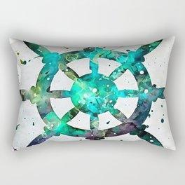 The Captains Wheel Rectangular Pillow