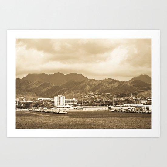 """ Ford Island"" Art Print"