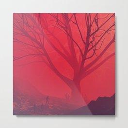 Big Red Metal Print