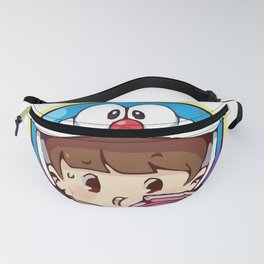 Doraemon chibi cosplay Fanny Pack