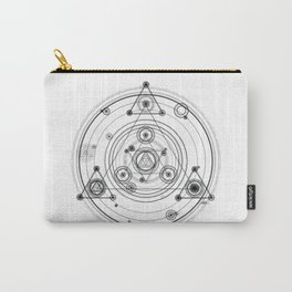 Sacred geometry and geometric alchemy design Carry-All Pouch
