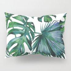 Tropical Palm Leaves Classic Pillow Sham