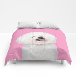 Laughing Puppy Comforters