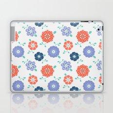 Block Print Flowers Laptop & iPad Skin