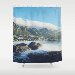 Hello Cape Town Shower Curtain