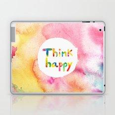 Think Happy Laptop & iPad Skin
